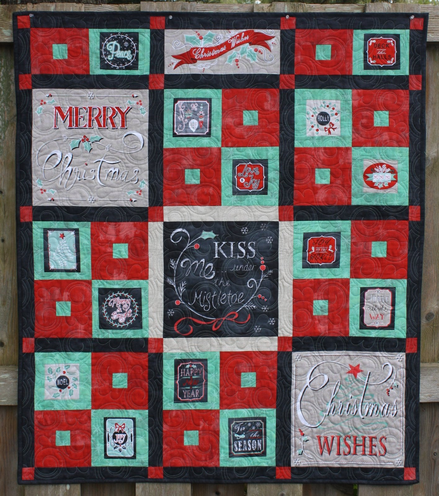 Christmas Wishes Quilt Pattern - RRQ Original