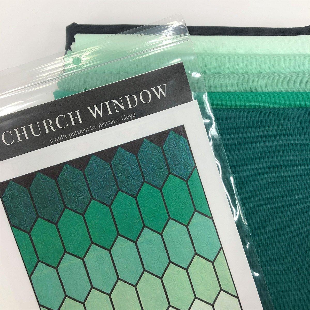 Church Window Quilt Kit