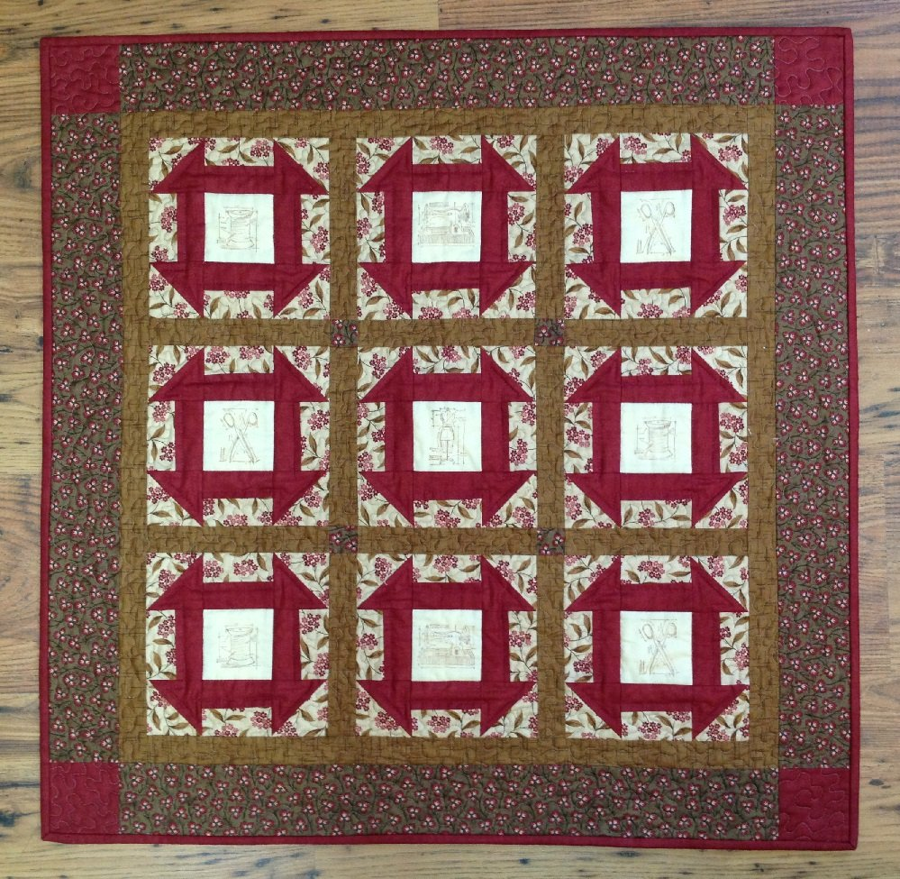 Churn Dash Quilt Pattern - RRQ Original