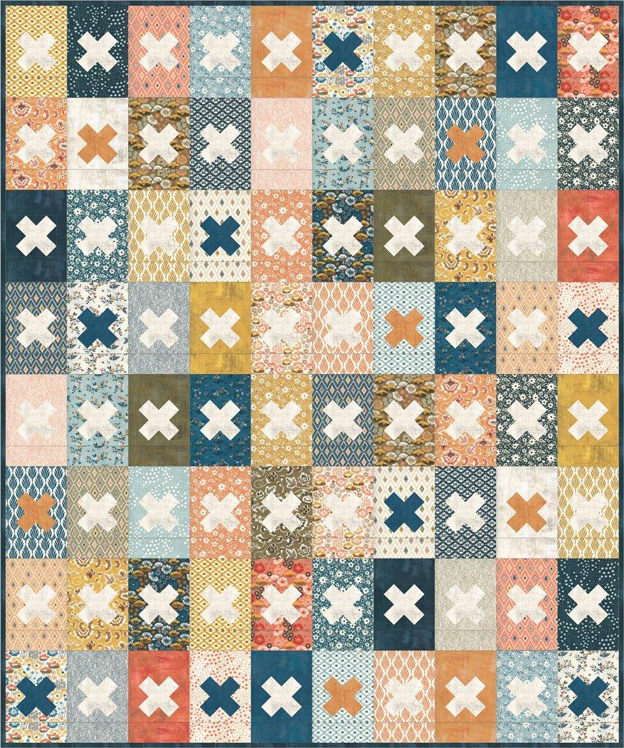 Cider First Press Quilt Pattern