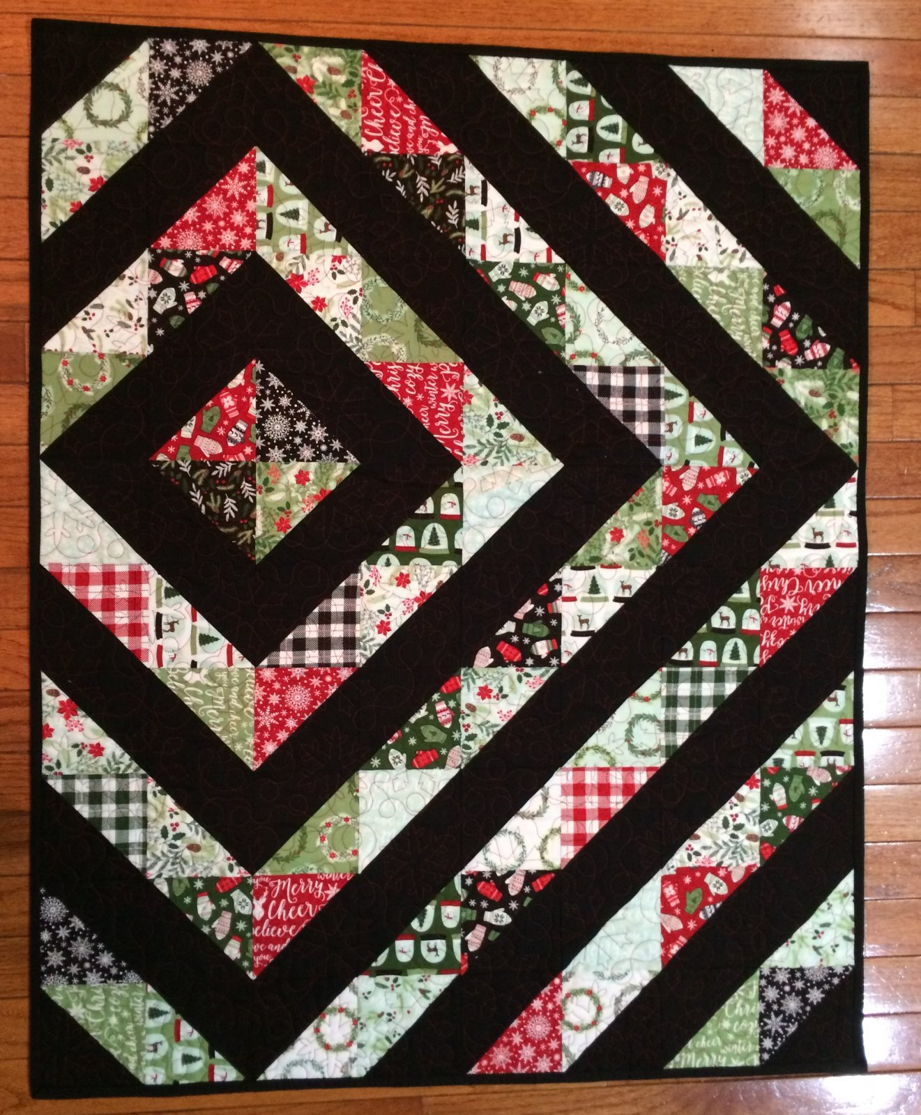 Comfort & Joy Charm Quilt Pattern Download - RRQ Original