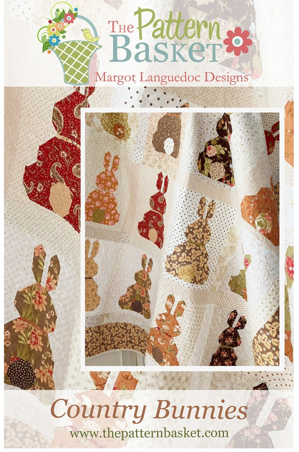 Country Bunnies Quilt Pattern