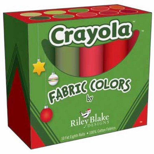Crayola Fat Eighth Box Christmas FEB-CRCH120-10