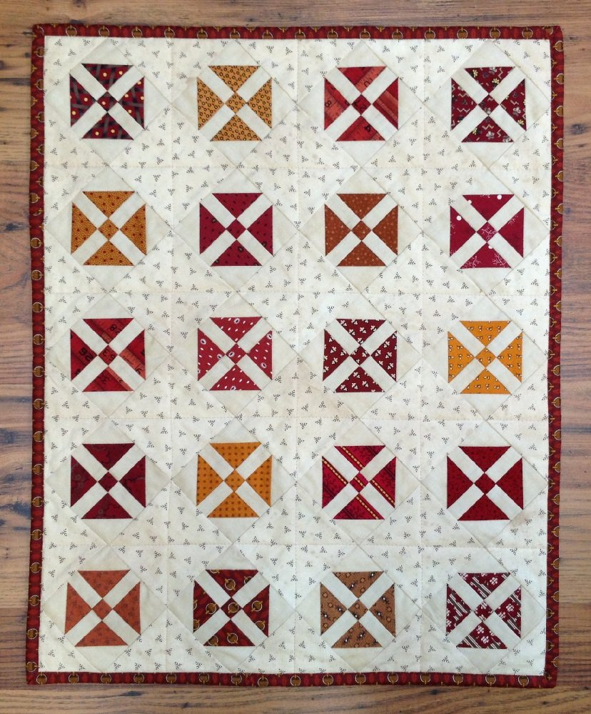 Criss Cross Quilt Pattern - RRQ Original