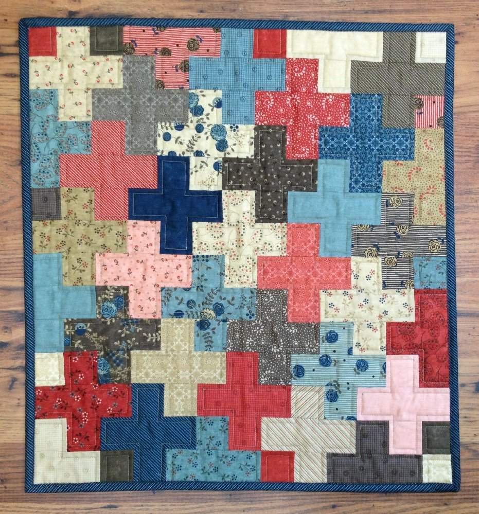 Crosses Quilt Pattern - RRQ Original
