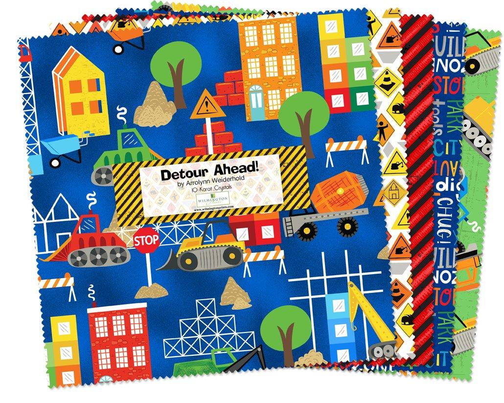 Detour Ahead! 10 Squares Q518-535-518