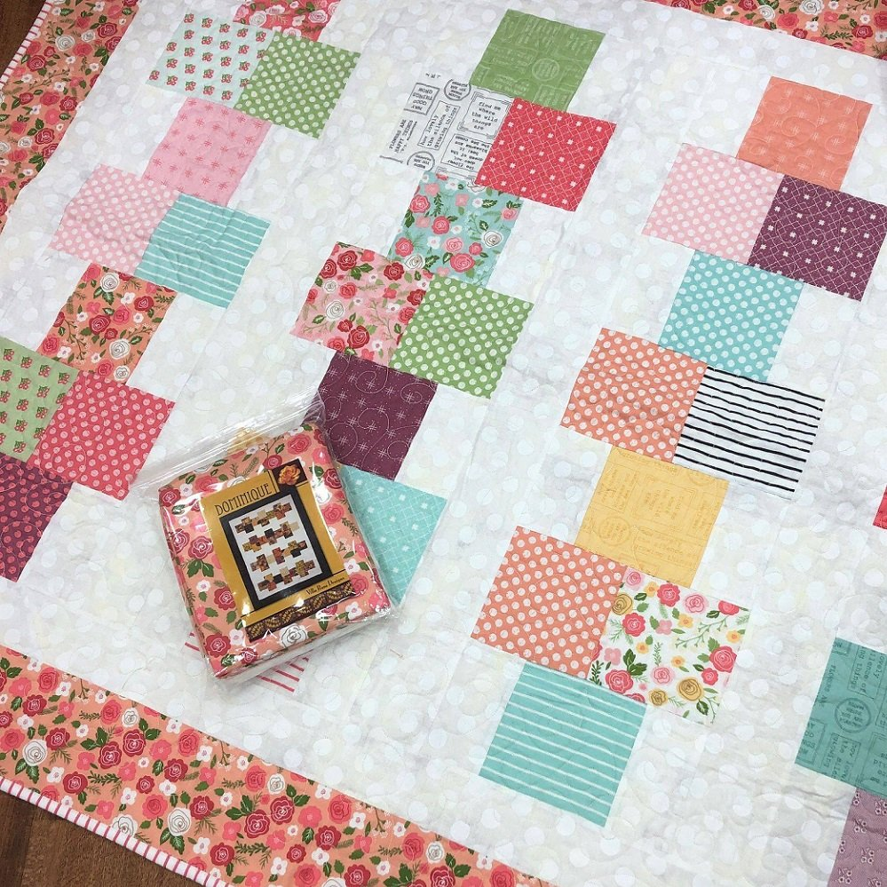 Dominique Quilt Kit