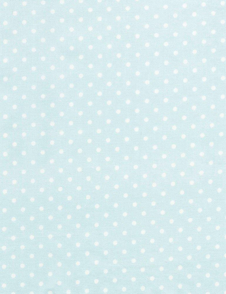 Dot-C1820-Arctic Dots white on light blue