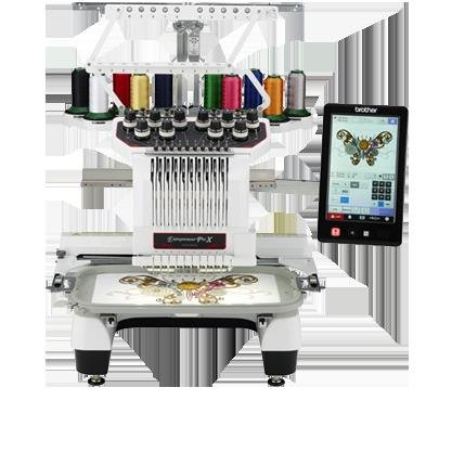 Brother 10-needle Entrepreneur ProX PR1050X Multi-Needle Embroidery Machine