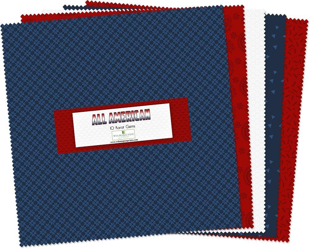 Essential Gems All American 10 Squares Q512-34-512