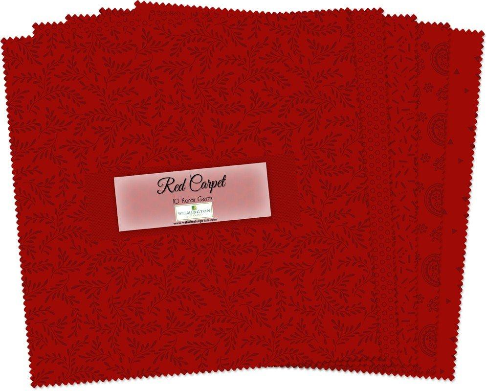 Essential Gems Red Carpet 10 Squares Q512-32-512