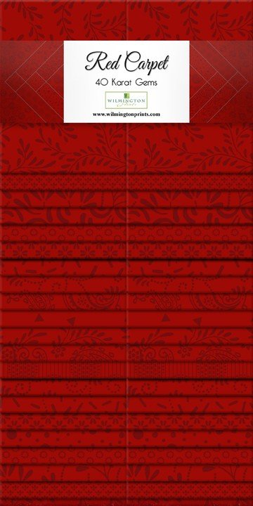 Essential Gems Red Carpet 2.5 Strips Q842-32-842