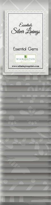 Essential Gems Silver Linings 2.5 Strips 24pc. Q802-25-802