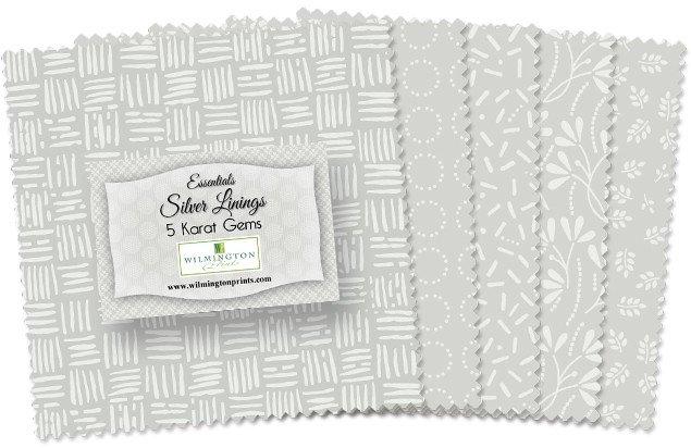 Essential Gems Silver Linings 5 Squares Q507-25-507