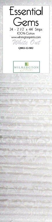 Essential Gems White Out 2.5 Strips 24pc. Q802-12-802