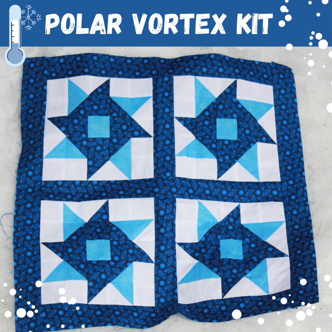 Polar Vortex Quilt Kit - RRQ Original