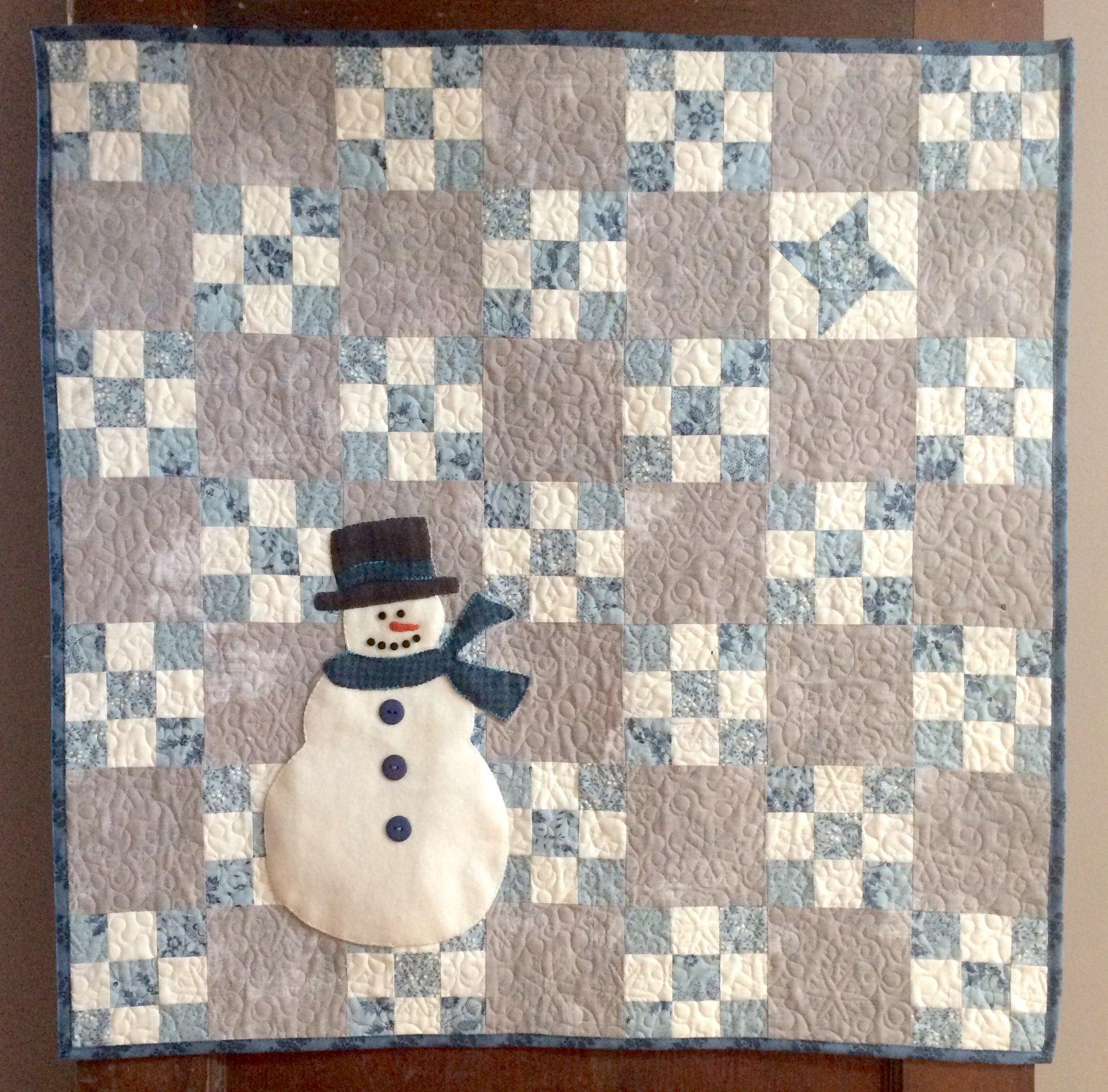 Winter's Night Magic Quilt Kit - RRQ Original