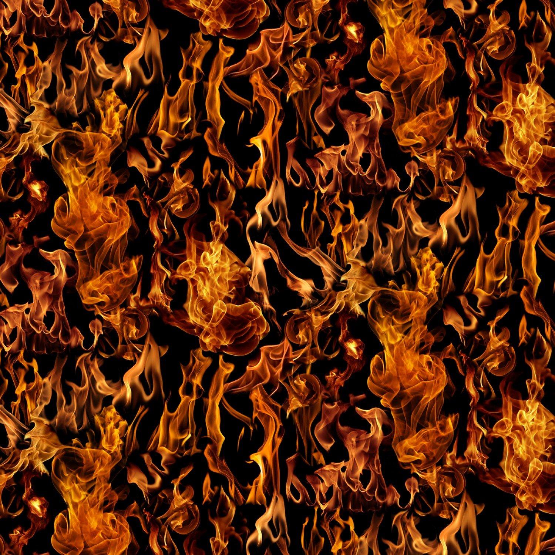 FIRE-C7734-BLACK Flames
