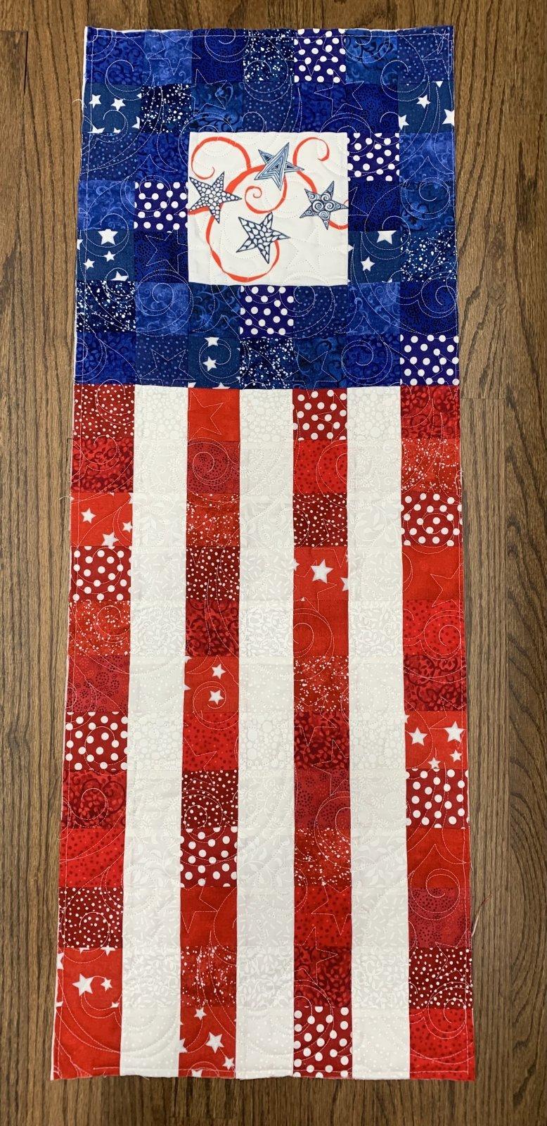 Zentangle Inspired Flag Table Runner Kit - RRQ Original