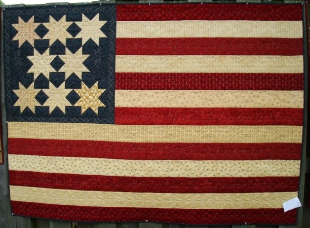 Freedom Isn't Free Quilt Pattern - RRQ Original