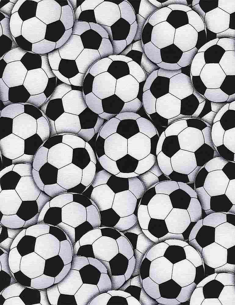 GAIL-C4820-WHITE Packed Soccer Balls