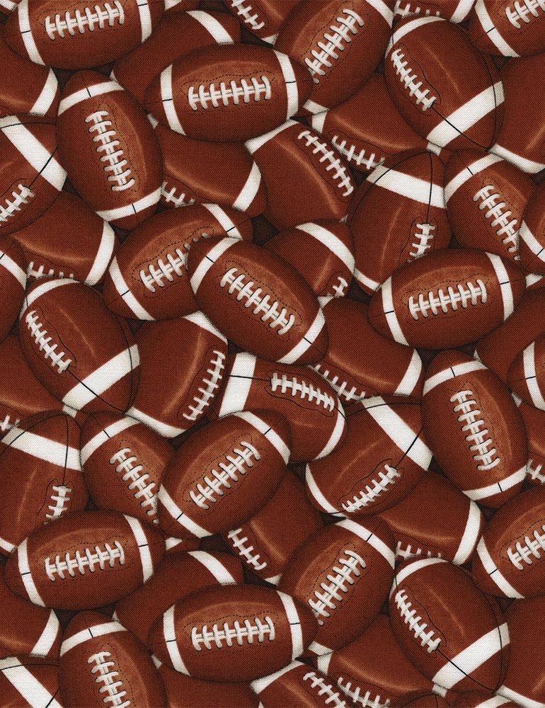 Gail-C4822-Brown Packed Footballs