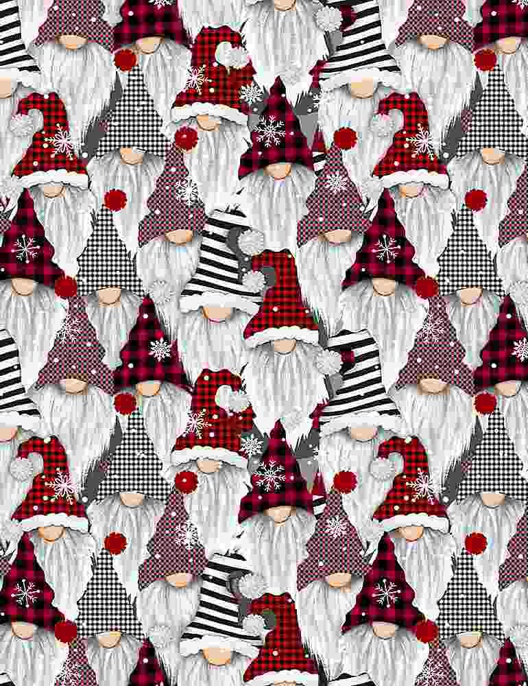 GAIL-C8223-MULTI Holiday Gnomes