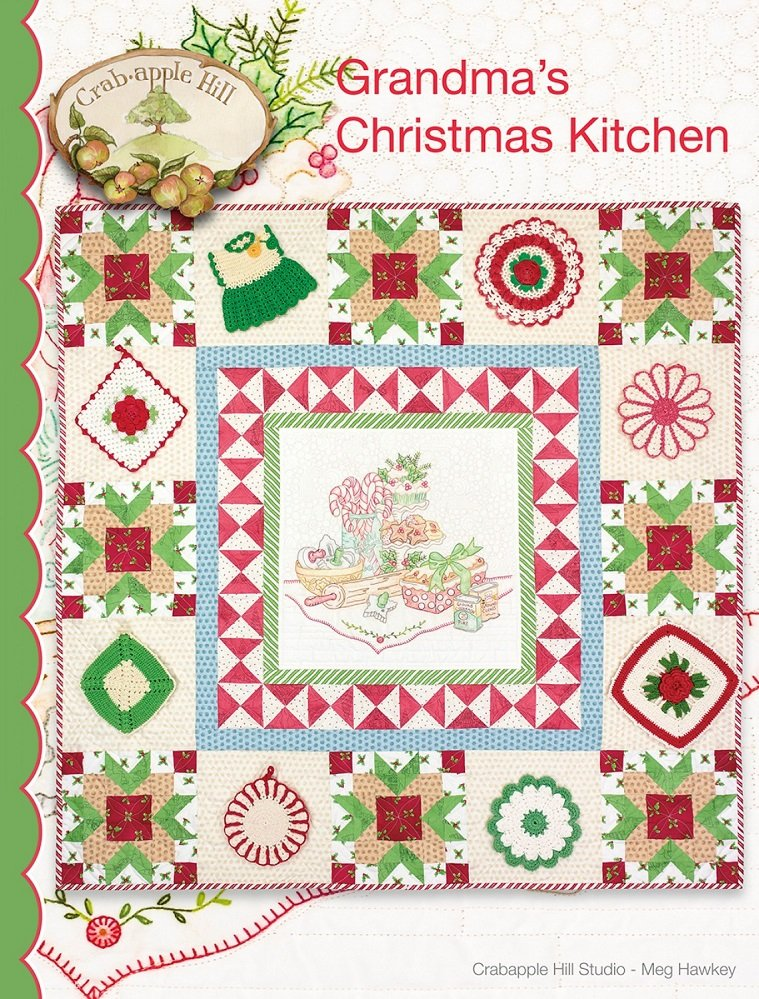 Grandma's Christmas Kitchen Quilt Pattern