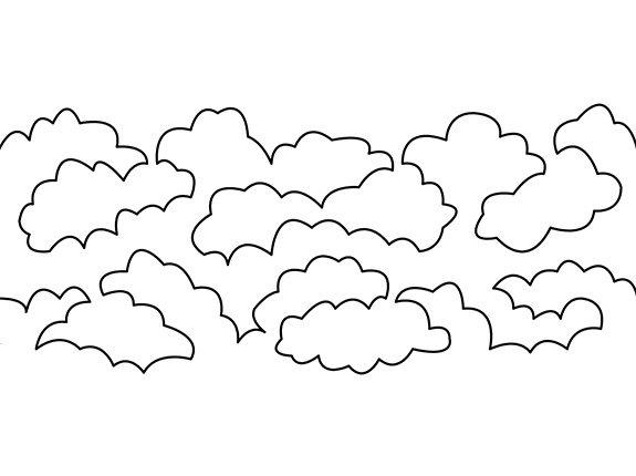 Groovy Board Lofty Clouds