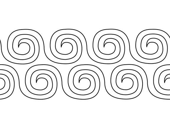Groovy Board Swirls