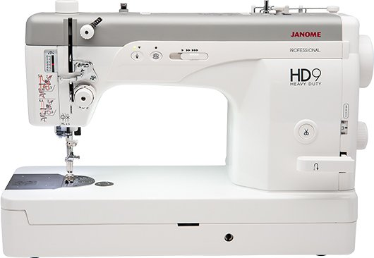 Janome HD9 Heavy Duty Straight Stitch Sewing Machine