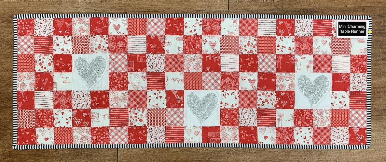 Zentangle Inspired Heart Table Runner Kit - RRQ Original