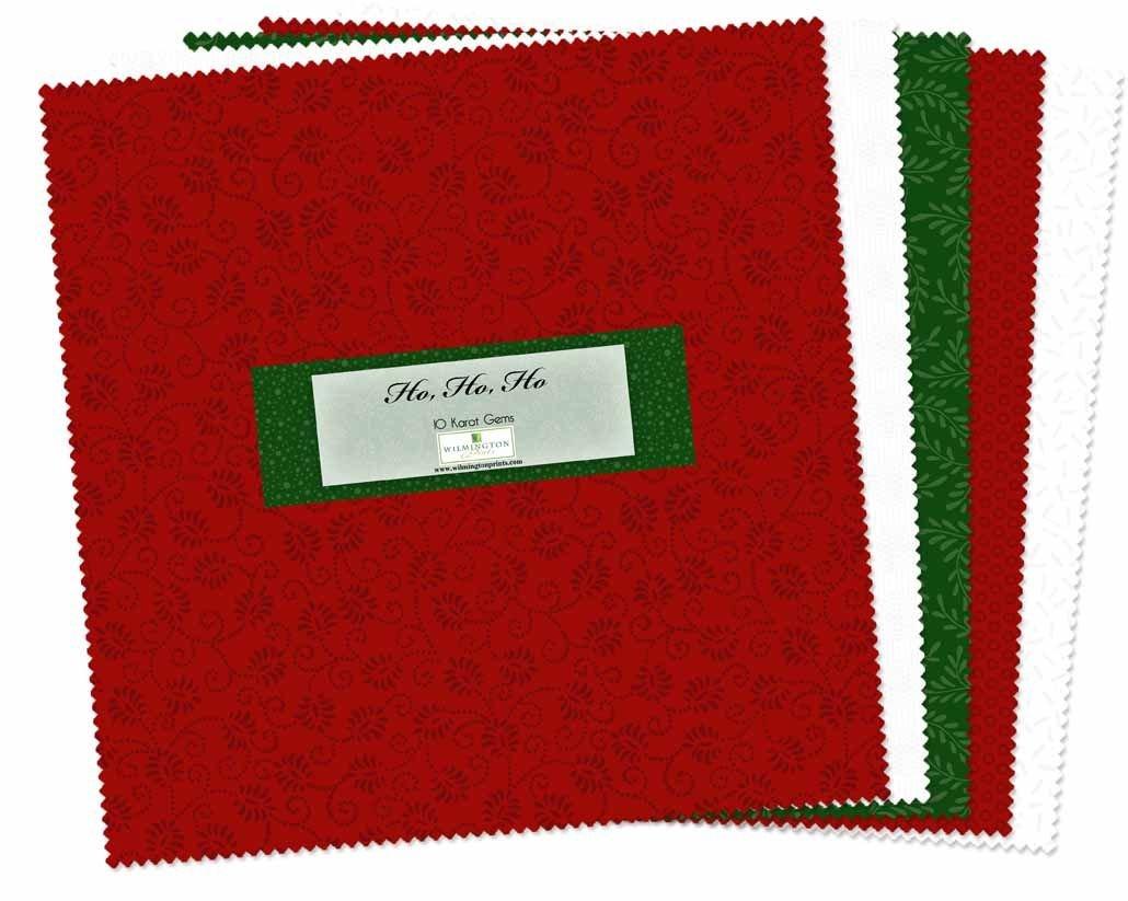 Essential Gems Ho, Ho, Ho 10 Squares 512-47-512