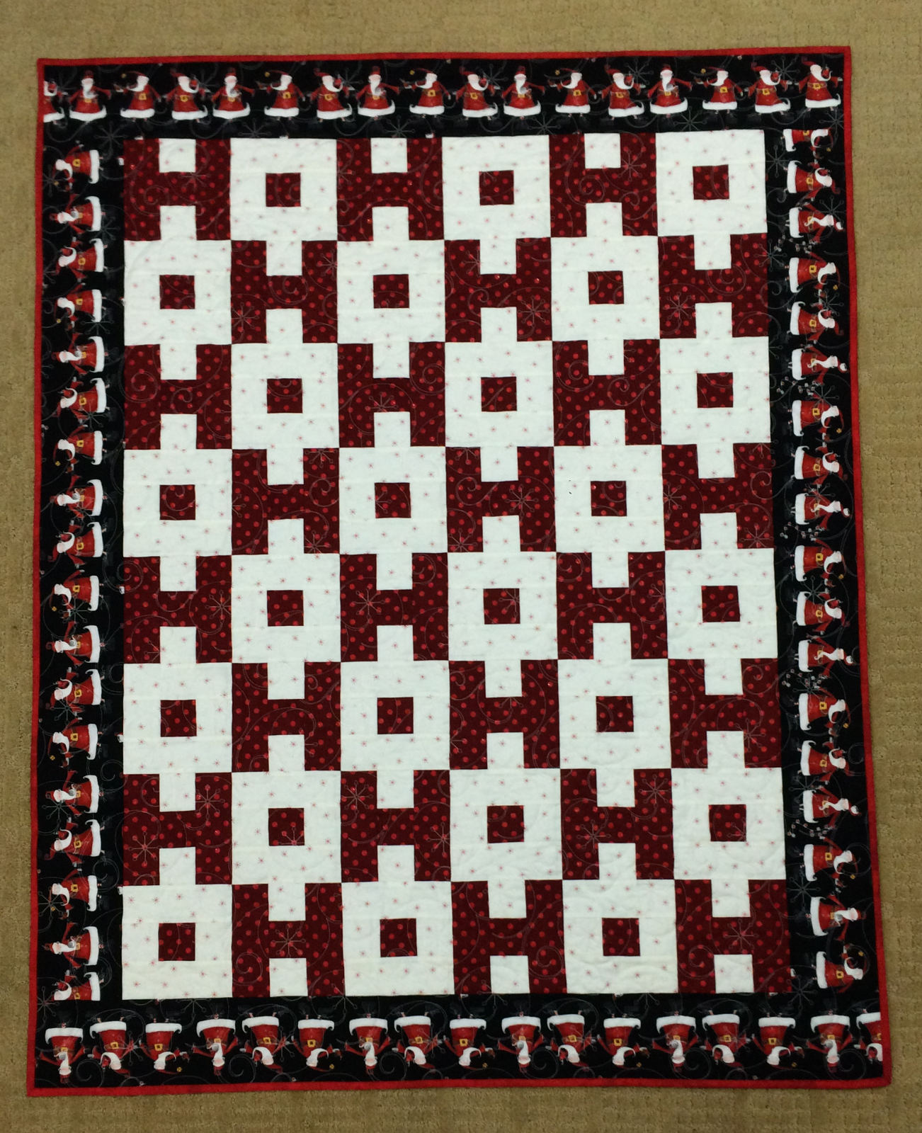 THIMBLEBERRIES Ho Ho Holiday  QUILT PATTERN