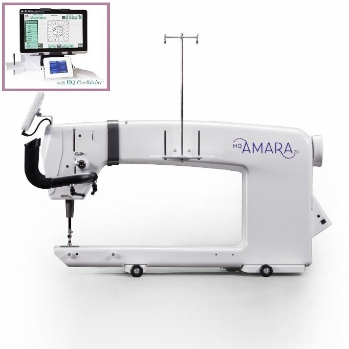 HQ20 Amara and HQ Pro-Stitcher Package