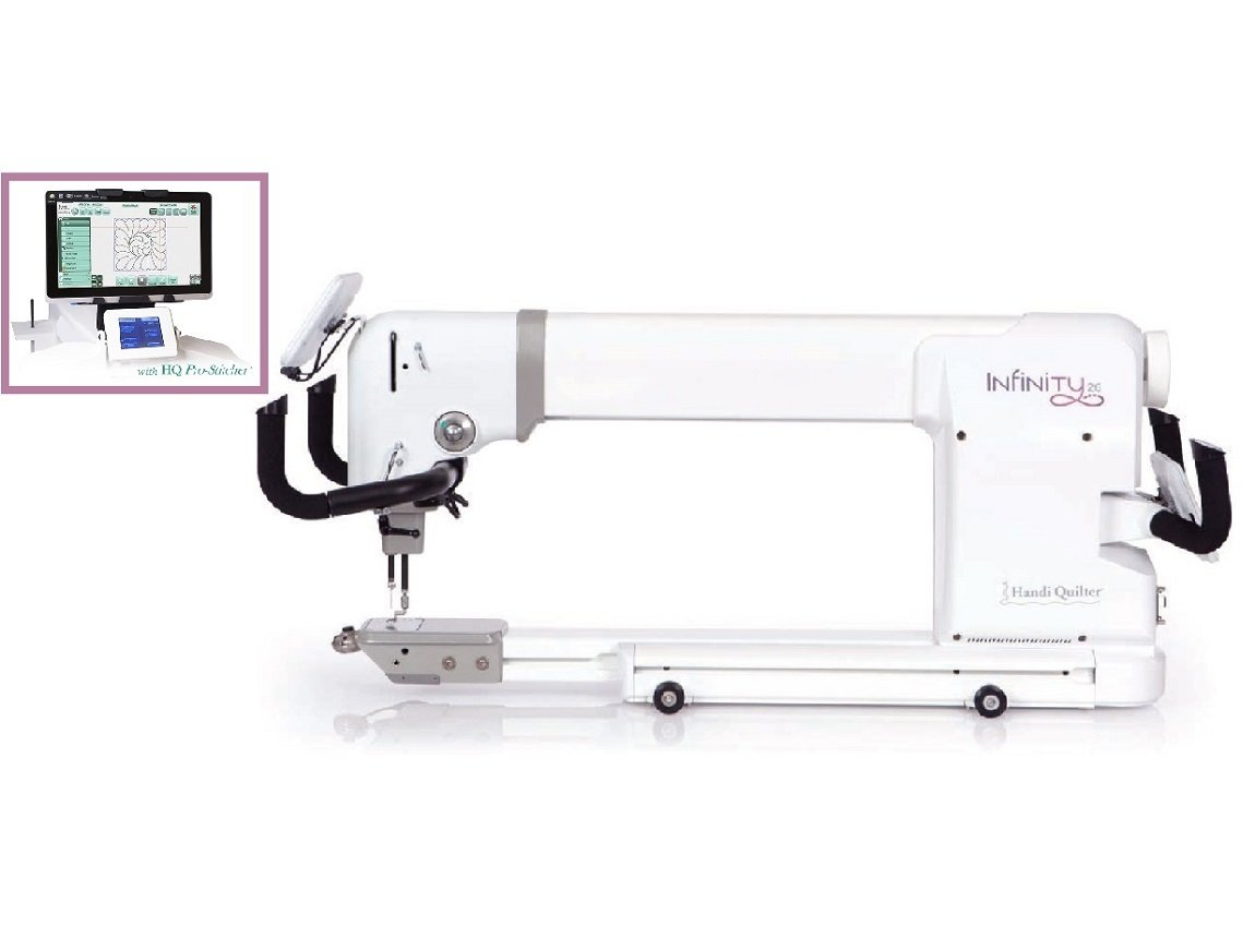 HQ26 Infinity and HQ Pro-Stitcher Package
