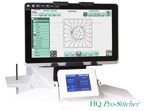 HQ Pro-Stitcher Hardware and Software