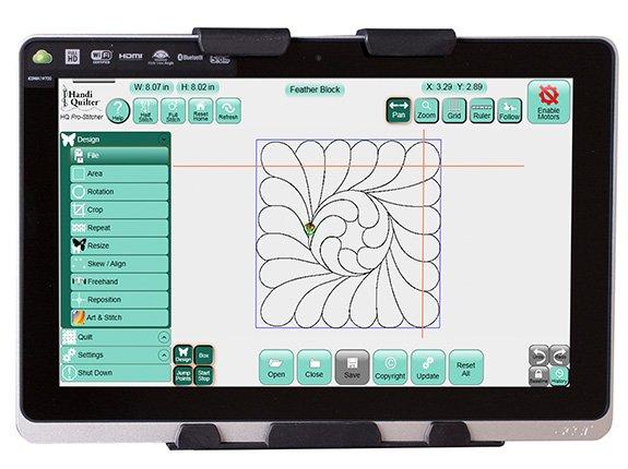 HQ Pro-Stitcher Monitor Upgrade for the IEI Monitor