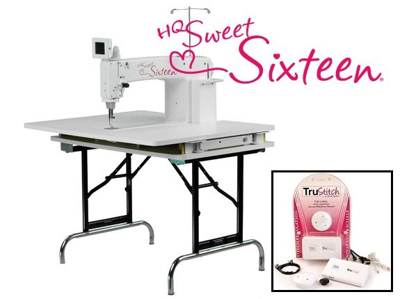 HQ Sweet Sixteen Sit-Down System with TruStitch Stitch Regulation System