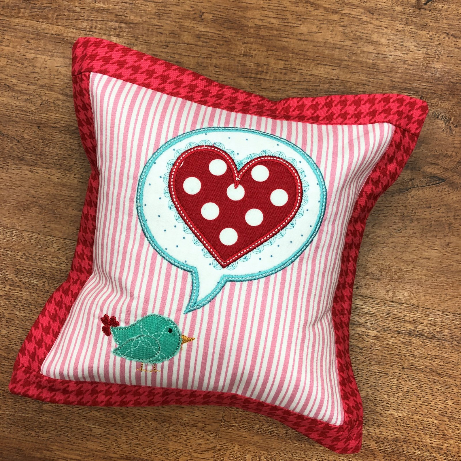 A Little Birdie Told Me Pillow Kit from Kimberbell's Love Notes