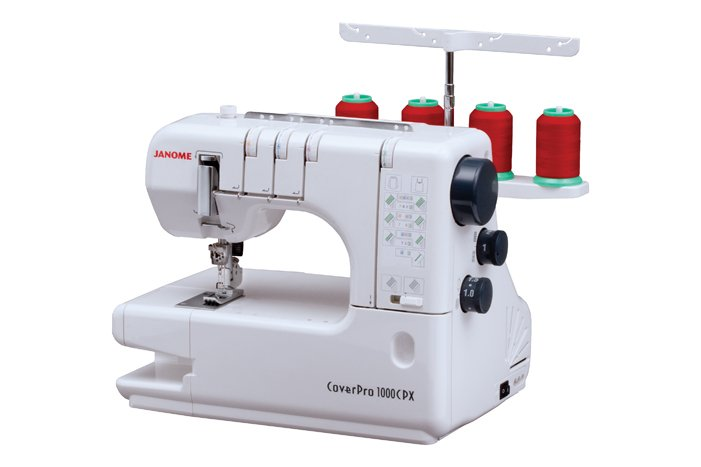 Janome 1000CPX Cover Pro Machine