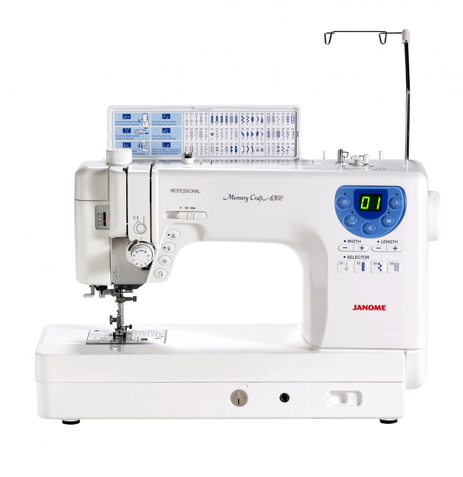 Janome MC6300 Sewing Machine