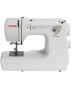 Janome 660 Jem Gold Mechanical Sewing Machine