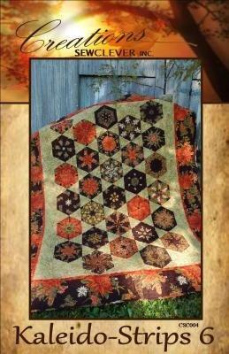 Kaleido-Strips 6 Quilt Pattern