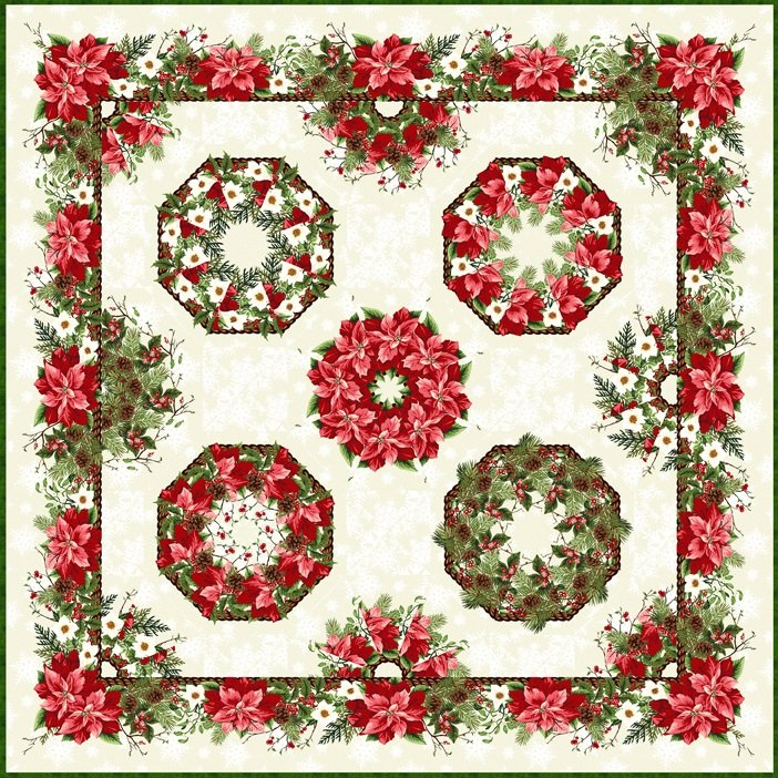 Kaleidoscope Wall Hanging Quilt Kit