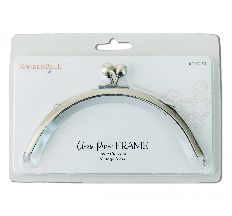 Clasp Purse Frame - Large Crescent