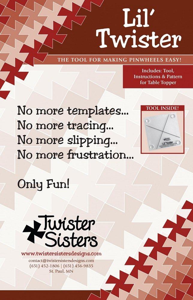 Lil' Twister Pinwheel Template