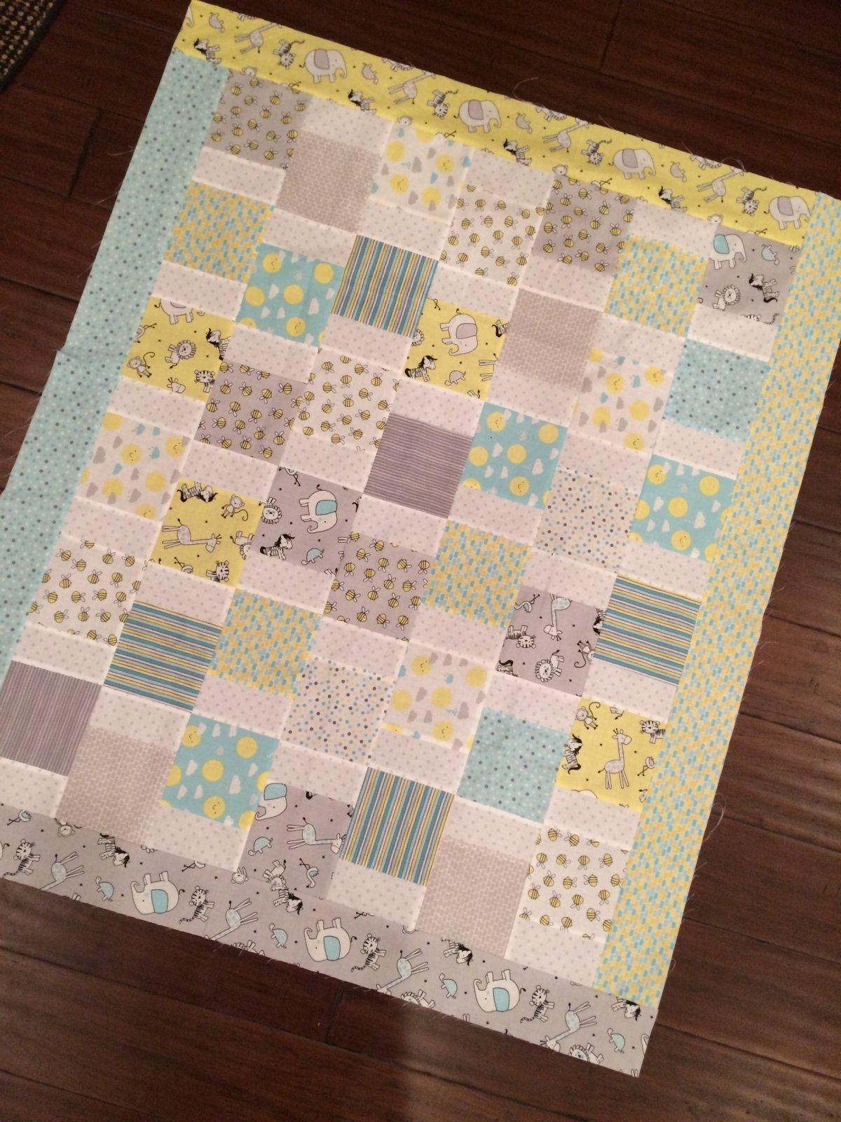 Little Sunshine Charm Quilt Kit - RRQ Original