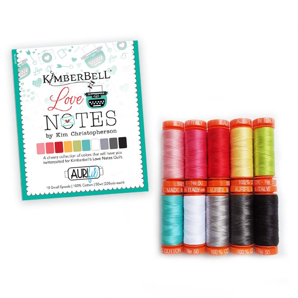 Love Notes Sewing Thread Set