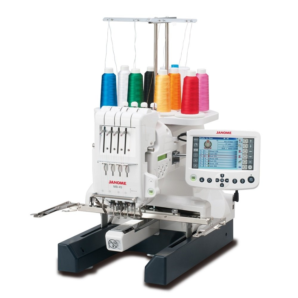 Janome MB-4S Mulit-Needle Embroidery Machine